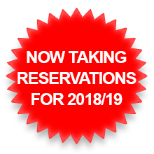 Now taking reservations for 2018/19